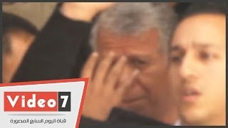 """بالفيديو.. ترحيل حسن حمدى فى """"بوكس خصوصى"""" بعد سداده الكفالة"""