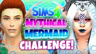 I turned my Sims into MYTHICAL mermaids... here