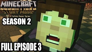 Minecraft Story Mode Season 2  FULL Episode 3 Gameplay Walkthrough - No Commentary
