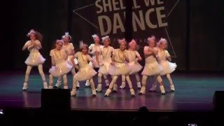 Dansstudio Yvette Y-Dance Stars Wageningen april 2016