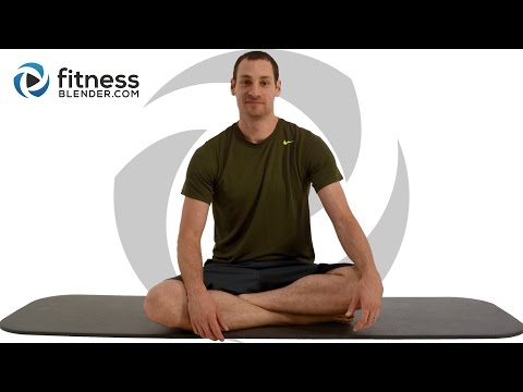 Relaxing Total Body Stretching Workout for Stress Relief and Better Sleep