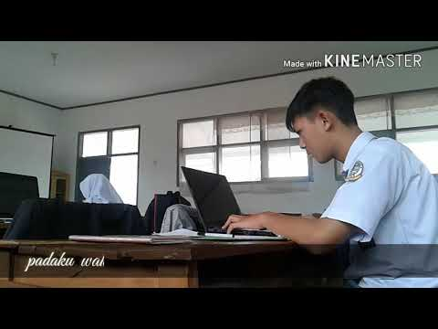 Virgoun - bukti ( video clip anak sekolah egar )