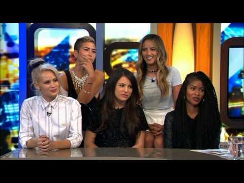G.R.L. - Simone Battle 3 weeks before her suicide Australian Tv Interview 14-8-2014