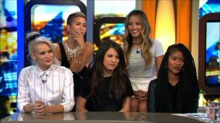 G.R.L. - Simone Battle 3 weeks before her suicide Australian Tv Interview 14-8-2014
