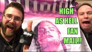 Jeff Hardy SHOWER CURTAIN??? WWE Figure FAN MAIL Unboxing Bonanza!