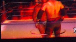 how to win an inferno match wwe 2010 smackdown vs raw xbox 360