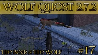 Deadly Battle with City Cougars!! || Wolf Quest 2.7.2 - Bear & Wolf Season || Episode #17