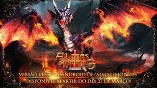 Almas Imortais 3D MMORPG Android HD GamePlay Trailer Tutoria