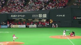 161027 岡大海のデットボールから西川遥輝のサヨナラ満塁HRでファイターズが日本シリーズ王手!