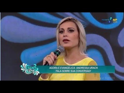 COMPLETO Andressa Urach no Superpop Luciana Gimenez 09 02 15