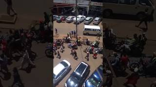(Must watch) Demonstrations in Thika in support of Gakuyo real estate and Rev Ngari