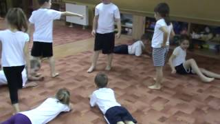 Zabawy ruchowe w przedszkolu