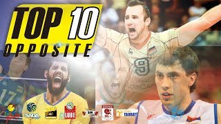Top 10 OPPOSITE | Best Volleyball Player in The World