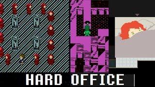 Hard Office - ALSO HARD TO UNDERSTAND - Weird RPG Maker game