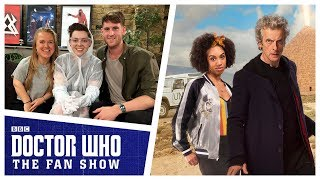 Rachel Denning and Jamie Hill - The Aftershow - Doctor Who: The Fan Show
