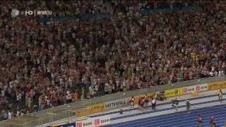 Usain Bolt - 100m World Record (9.58 sec) - HD