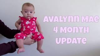 4 Month Baby Update || Olivia Palmer