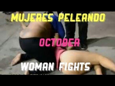 PELEA DE MUJERES MOSTRANDO MÁS DE LA CUENTA WOMAN FIGHTS OCTOBER ANTHONY JSV
