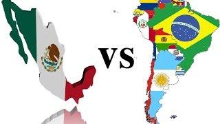 Crítica a  la rivalidad Mexico vs Sudamérica (Mensaje de unión)