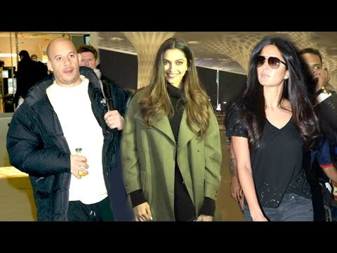 Xxx Mp4 Airport Spotting 13th Jan 2017 Vin Diesel Deepika Padukone Katrina Kaif 3gp Sex