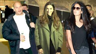 Airport Spotting 13th Jan 2017 - Vin Diesel,Deepika Padukone,Katrina Kaif