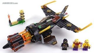LEGO Ninjago 2015 Boulder Blaster review! set 70747