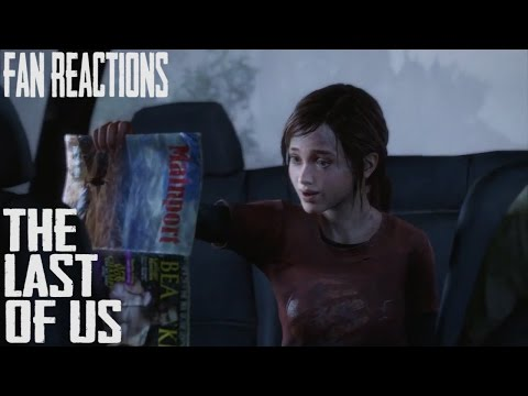 Xxx Mp4 Fan Reactions The Last Of Us Ellie Amp The Dirty Magazine Car Scene 3gp Sex