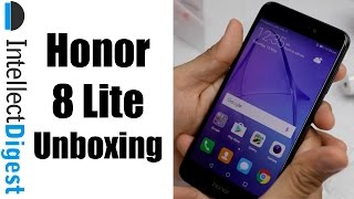 Honor 8 Lite Unboxing, Hands On, Camera Test and Features Overview | Intellect Digest