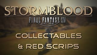 Stormblood Gathering Guide: Collectables and Red Scrips