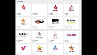 HOW TO WATCH TV CHANNELS LIKE LIFE OK,STAR PLUS, STAR UTSAV  AND MANY?