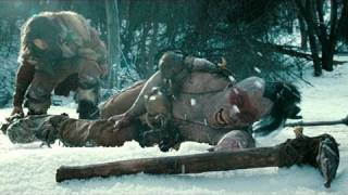 'Conan the Barbarian 3D'  THE BLOODY FIRST SCENE