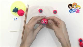 How to make personalized pencil - Kids Craft (Hellokids)