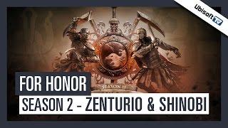 FOR HONOR - Season 2 - Zenturio und Shinobi angespielt | Ubisoft [DE]