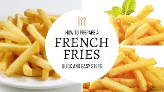 Home made KFC style french fries - Tamil