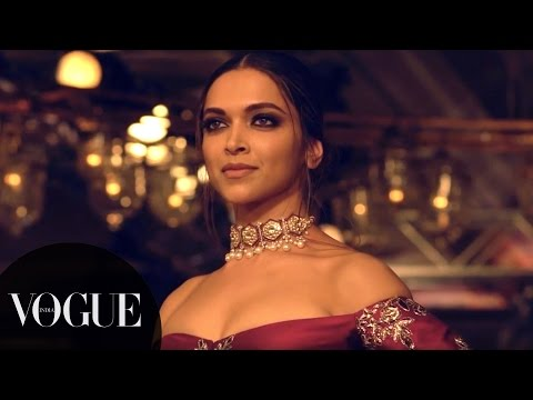 Deepika & Fawad Ramp Walk for Manish Malhotra | India Couture Week 2016 - Day 1 | VOGUE India