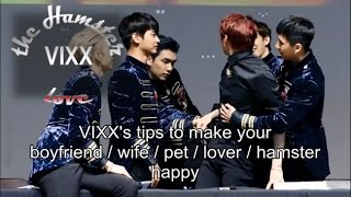 VIXX's tips (they think) to make your wife happy [빅스/all x Leo] (Just for fun)