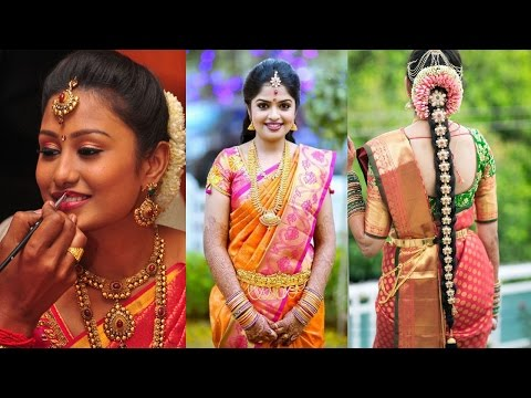 Xxx Mp4 Traditional South Indian Bridal Makeup Hairstyle Step By Step Makeup And Hairstyle Tutorial 3gp Sex
