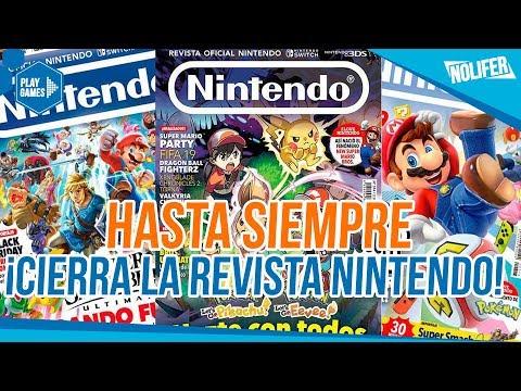 La revista Nintendo ha cerrado ¡HOY ES UN DÍA MUY TRISTE! / #Nintendo #RevistaNintendo