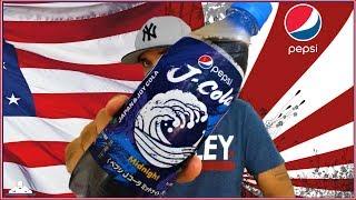 American Tries Japanese Pepsi® J-Cola Midnight   ペプシ