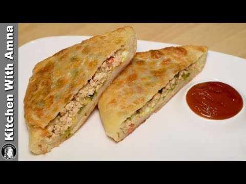Xxx Mp4 Arabic Paratha Recipe Chicken Cheese Paratha Breakfast Recipe Kitchen With Amna 3gp Sex