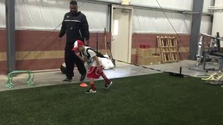 8 year old Jeter breaks world record 40 yard dash!