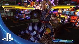 Street Figher X Tekken for PS Vita: Combo Trailer