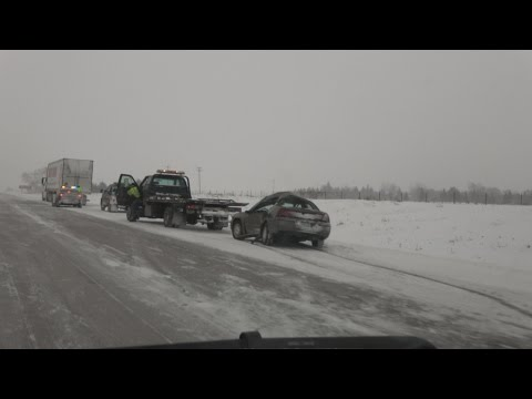 Wright County, MN - I94 Travel Nightmare - 1/10/2017