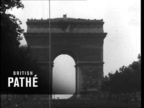 watch Us Troops Parade In Paris (1944)