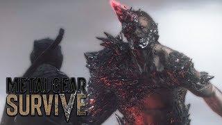 METAL GEAR SURVIVE All Boss Fights & Endings
