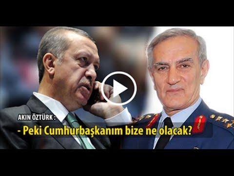 15 temmuz darbe girişimi tiyatroymuş! Erdoğan ve Akın Öztürk'ün şok ses kaydı!