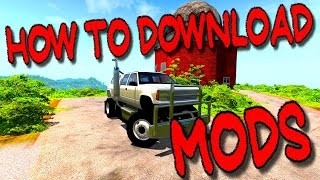 How to Download Mods on BeamNG.Drive (Easiest Way)
