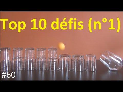 60# Top 10 des défis à faire à la maison (n°1)