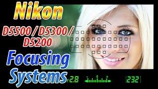 Nikon D5500 / D5300 / D5200 Focus Square Tutorial | How to Focus Training Video
