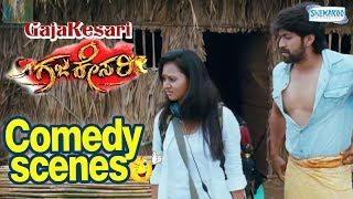 GajaKesari Kannada Movie Sakkath Comedy-Yash Sadhu kokila Amulya